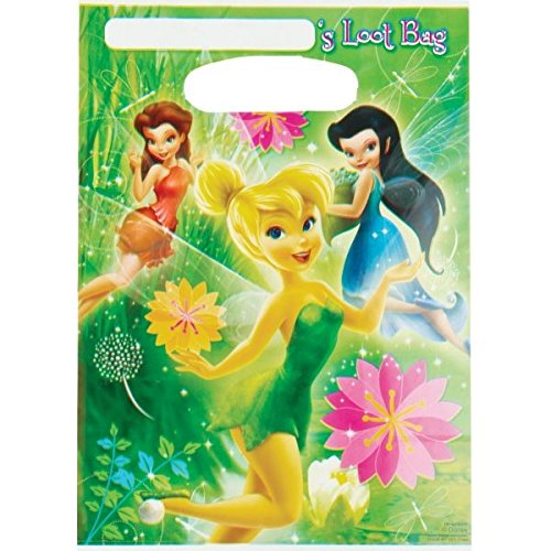 Loot Bags | Disney Tinkerbell Collection | Party Accessory from amscan