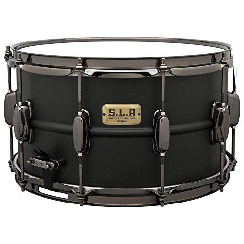 (Tama S.L.P. Big Black Steel Snare Drum - 8