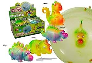 Precio en el palo® hinchable Globo de pelota, dinosaurios, diseño 3 - Triceratops: Amazon.es: Hogar