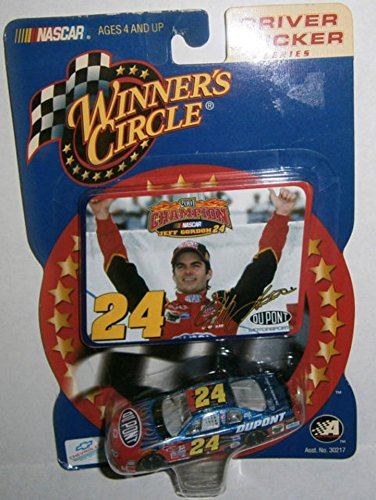 Granny's Best Deals (C) 2002 Winner's Circle 1:64 scale Jeff Gordon 2001 Champion #24 Driver Sticker Series Die-Cast Race Car-Brand New!