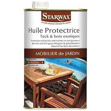 starwax Exotic Holz und Teak Schutz Öl [French Verpackung]: Amazon ...