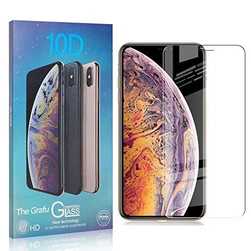 The Grafu Displayschutzfolie für iPhone 11 Pro Max, 3D Touch, Blasenfrei, 9H Ultra klar Schutzfolie aus Gehärtetem Glas Kompatibel mit iPhone 11 Pro Max, 1 Stück