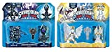SKYLANDERS TRAP TEAM SET: Sunscraper Spire Light Element & Midnight Museum Dark Element Expansion Pack