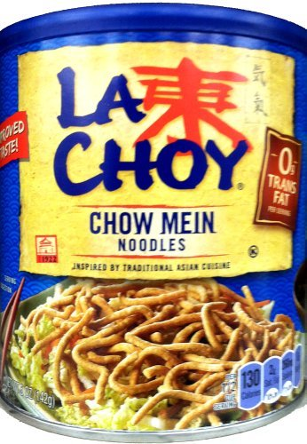 La Choy, Chow Mein Noodles, 5oz Canister (Pack of 4) (Wel Pac Chow Mein Stir Fry Noodles Recipes)
