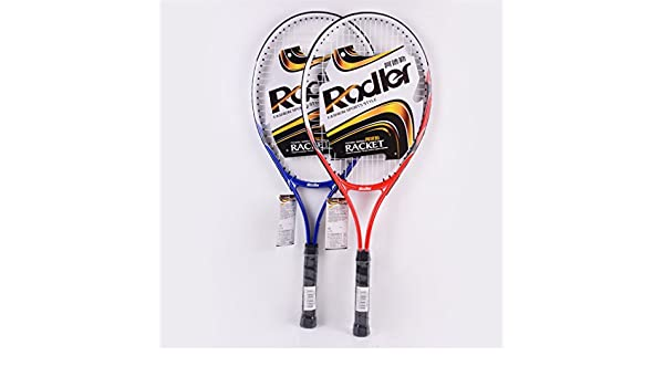 Amazon.com : Taiwanrns Blue Two Colors Tennis Raquete and 1 Piece Tennis Balls Roder Raquetas De Tenis Blue Have Box : Sports & Outdoors