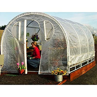 Weatherguard IS 62901 6-by-8-Foot Greenhouse