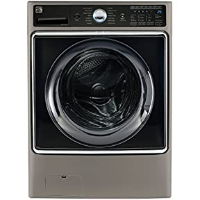 Kenmore Smart 5.2 cu.ft. Front Load Washer with Accela Wash Technology in Metallic Silver - Works with Amazon Alexa (Available in select cities only)
