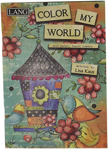 (The LANG Companies Color My World 2019 Monthly Pocket Planner (19991003178))
