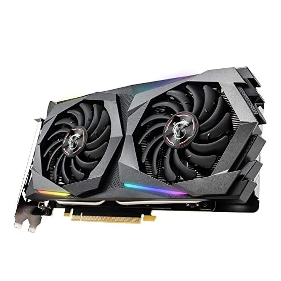 MSI Gaming GeForce GTX 1660 Super 192-bit HDMI/DP 6GB GDRR6 HDCP Support DirectX 12 Dual Fan VR Ready OC Graphics Card 51osD8Or12L. SS555