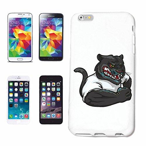 """cas de téléphone iPhone 7+ Plus """"PANTHER EN MUSCLE SHIRT BODYBUILDING MUSCULAIRE POIDS GYMNASE muskelaufbau SUPPLEMENTS WEIGHTLIFTING BODYBUILDER"""" Hard Case Cover Téléphone Covers Smart Cover pour App"""