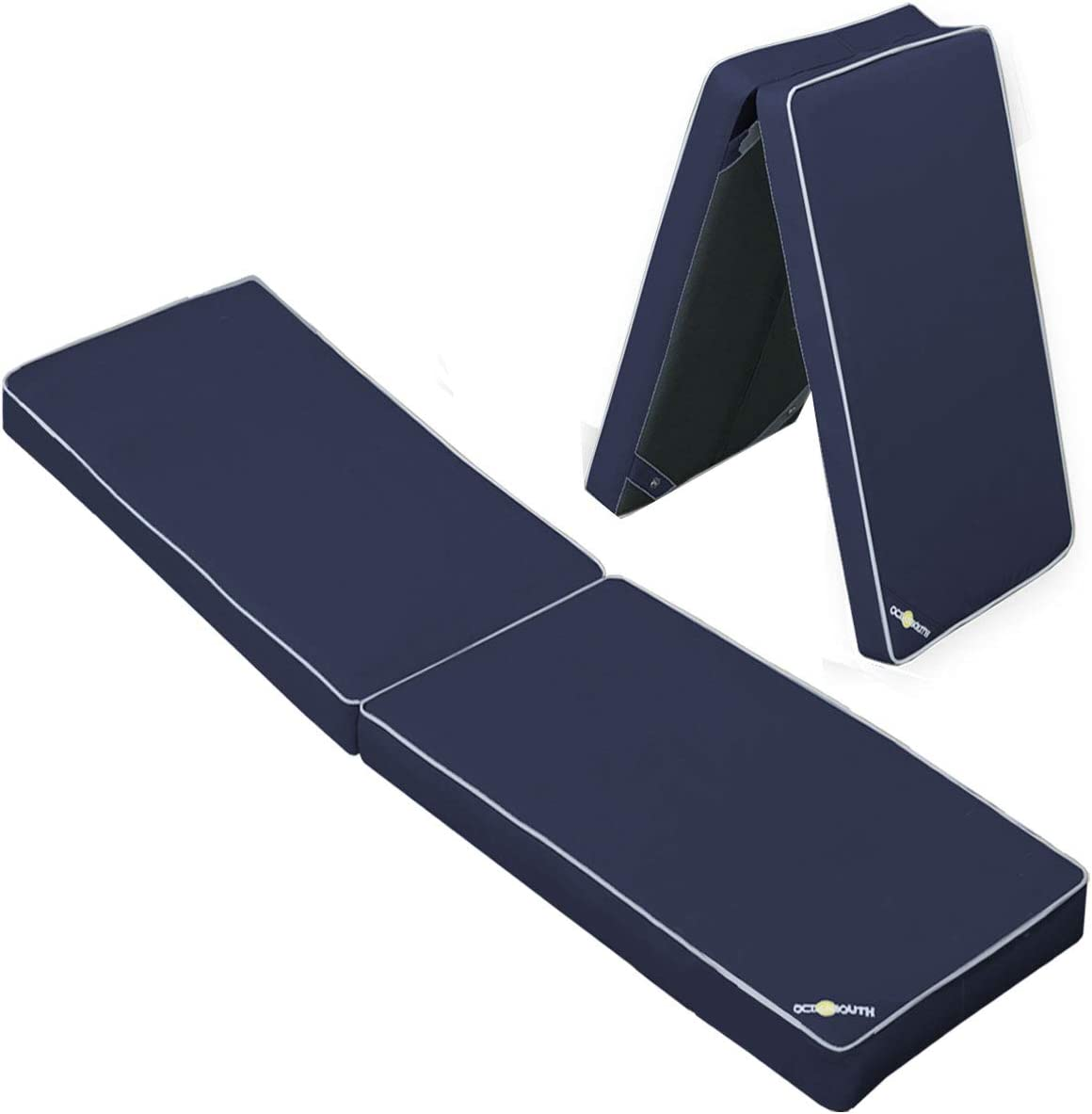 Blue, Length 51 x Width 15 x Height 2-1//2 Oceansouth Boat Seat Cushion