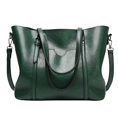 Shoulder Bag 2 Tote Green Bag Handbag Bucket Bag LILYYONG Crossbody Bag Women nzxTwT