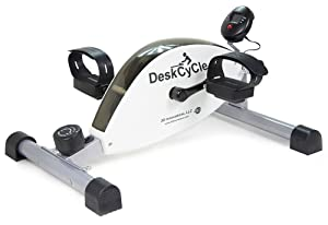 DeskCycle Under Desk Cycle,Pedal Exerciser - Stationary Mini Exercise Bike