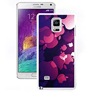 Apple Core (2) Hard Plastic Samsung Galaxy Note 4 Protective Phone Case