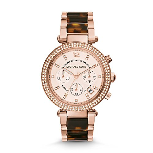 Michael Kors Women's Parker Brown Watch - Women Mk