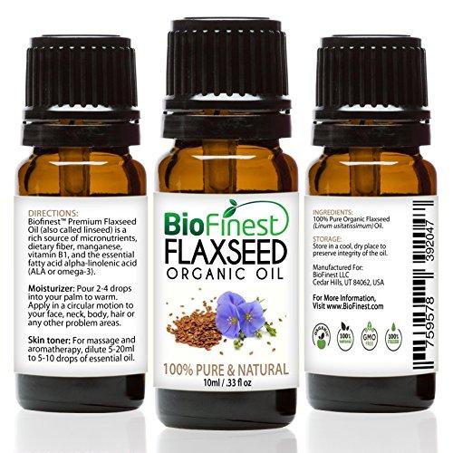 BioFinest Flax Seed Organic Oil