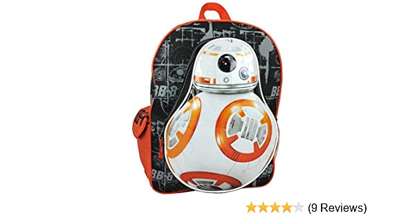 Amazon.com   Star Wars Luggage Star Wars BB8 Blueprint Backpack, Orange,  One Size   Kids  Backpacks 3733698f77