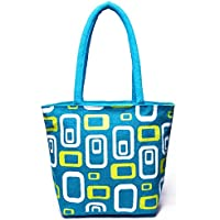 pranjals house Women's Jute Multicolour Reusable Shoulder Bag