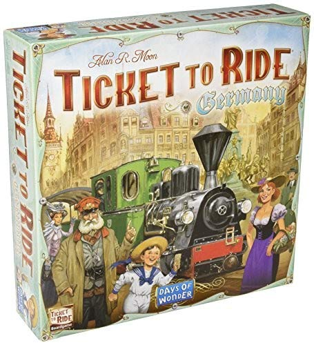 Ticket to Ride: Germany (Ticket To Ride Best Version)