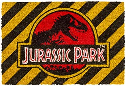 Pyramid International Jurassic Park Logo Door Mat