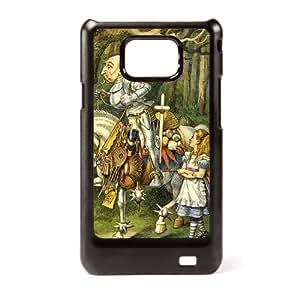 Case Fun Samsung Galaxy S2 (I9100) Vogue Case - Alice in Wonderland The Knight