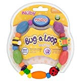 Nuby Bug-a-Loop Teether 3mth+ - Pack of 6