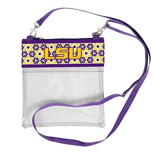 Desden LSU Tigers Clear Gameday Crossbody Bag by Desden