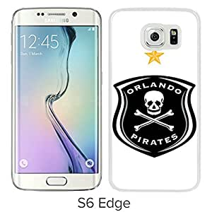 New Fashion Custom Designed Skin Case For Samsung Galaxy S6 Edge With Orlando Pirates White Phone Case 1