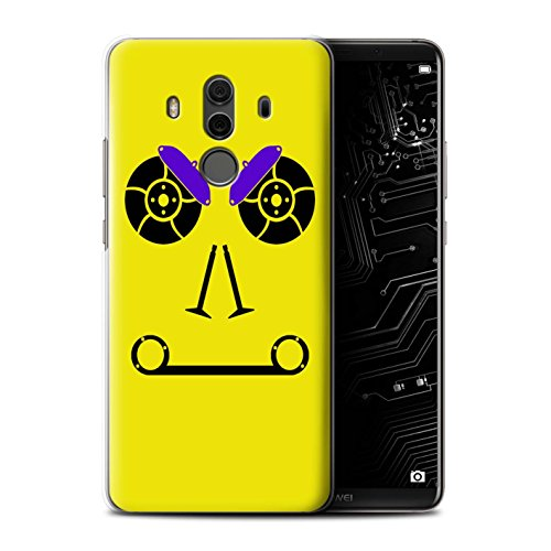 STUFF4 Phone Case / Cover for Huawei Mate 10 Pro / Brakes/Yellow Design / Car Part Faces (Brake Mate)