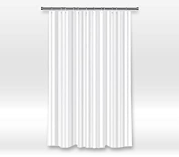 Curtains Ideas black cloth shower curtain : Amazon.com: Fabric Shower Curtain Liner - Mildew Resistant, Water ...