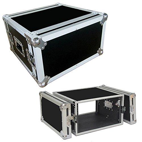 8 Space 8u 16 Inche Deep Heavy Duty 3/8 Ply ATA Amp Rack Case - Sale Price Roadie Products Inc.