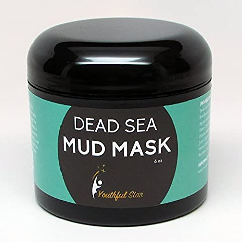 Youthful Star Dead Sea Mud Mask for Anti Aging Facial Treatments - Health Star