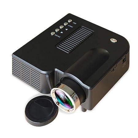 John-L Mini proyector LED, proyector de Bolsillo de Pantalla ...