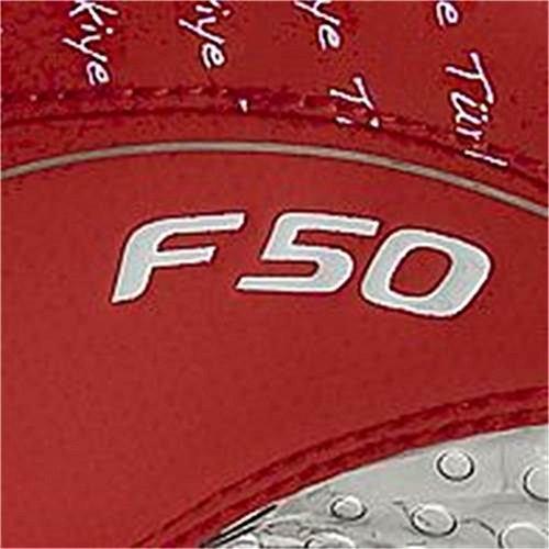 Adidas F50.8 Tunit Upper Turkey - Botas de fútbol de sintético para hombre rojo rojo rojo - rojo