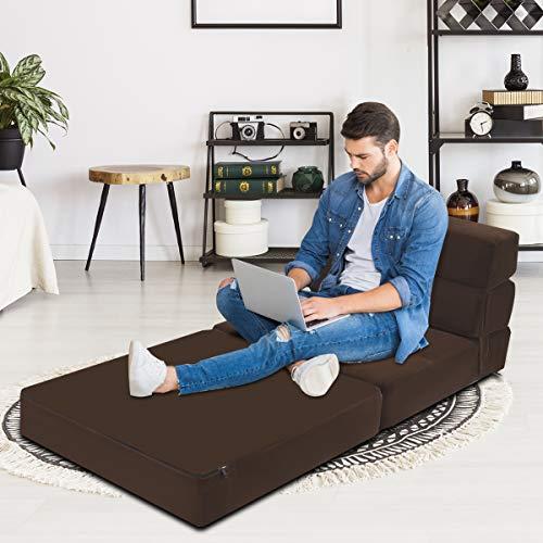 Amazon.com: Giantex - Sofá cama plegable con espuma ...