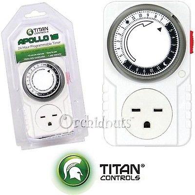 Titan Controls Apollo 10 Timing Controller - Electrical Timers - Amazon.com