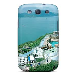 Galaxy Case - Tpu Case Protective For Galaxy S3- Ocean Park Resort In Hong Kong by icecream design