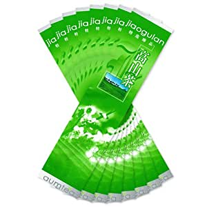 8 Pack | 30 Gm (1 Oz) Jiaogulan Leaf | FREE Shipping | Organic Herbal Immortalitea Foil Gift Packaged | 50% Wholesale Discount