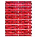 "Fadeless 0056478 Pattern Art Paper Roll, 48"" x 144"" Size, Sulphite, Tu-Tone Brick"
