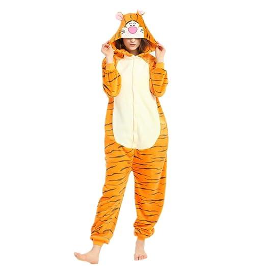 Pijama con capucha de franela para adultos, muy suave, cálido y ...