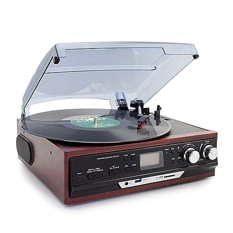 Chitty Brown Moderno De Radio Disco Fonográfico De Vinilo Viejo ...