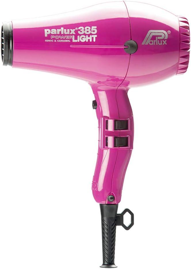 Parlux 385 PowerLight Ionic Ceramic Hair Dryer Fuchsia Pink