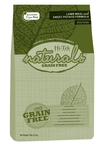 Hi-Tek Naturals Grain Free Lamb Meal and Sweet Potato Formula Dry Dog Food, 5 Pounds, My Pet Supplies