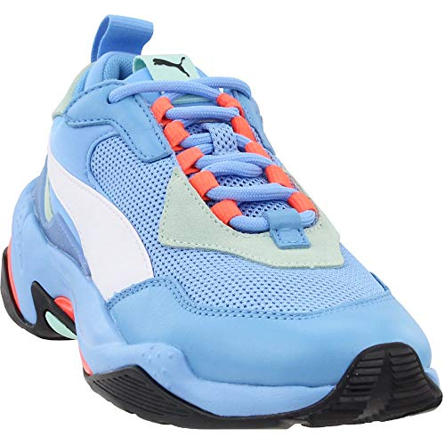 PUMA Thunder Sneaker, Team Light Blue-fair Aqua, 7.5 M US (Electric Blue Sneakers)