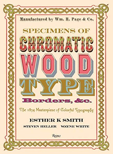 Playful Border - Specimens of Chromatic Wood Type, Borders, &c.: The 1874 Masterpiece of Colorful Typography