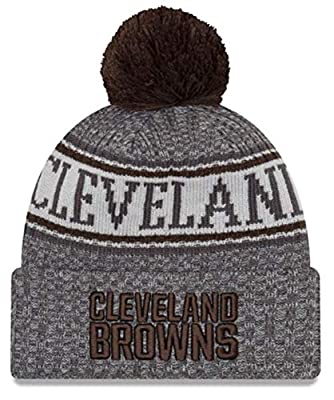 New Era Cleveland Browns Gray/Graphite Sport Knit NFL 2018 Beanie Unisex Hat, OSFM