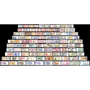 100 Banknotes Different Foreign,Currency, History Rare - Long time worth Suitable for collector