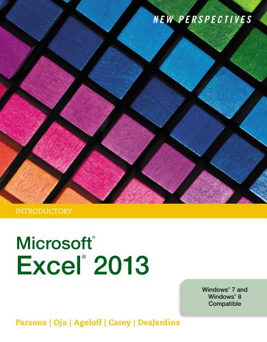 New Perspectives on Microsoft Excel 2013, Introductory Pdf