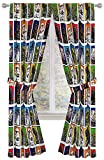 "Best Star Wars Home Curtain Panels - Star Wars Classic 84"" Inch Window Curtains/Drapes 4 Review"