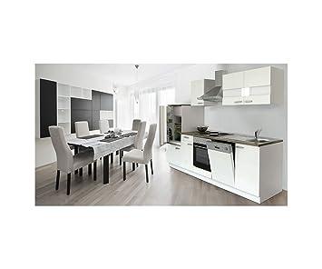 respekta Cocina vacía Instalación de Cocina Cocina Cocina Bloque Blanco 280 cm vacíos de Bloque lbkb2 80ww: Amazon.es: Hogar